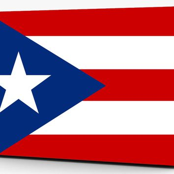 Puerto Rico Flag Vinyl Laptop Computer Skin Sticker Decal Wrap Macbook Various Sizes