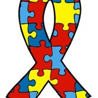 "[10 Pack] Support Autism Awareness Ribbon Puzzle 2.5"" Temporary Body Art Tattoos"