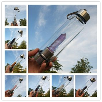 Healing Crystal Tonic Bottle