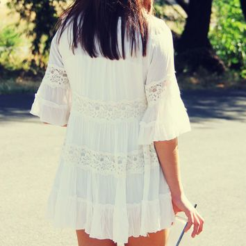 The Gunner Lace Tunic