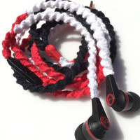 Bold Triad MyBuds Wrapped Headphones Tangle Free Earbuds Your Choice of Headphones