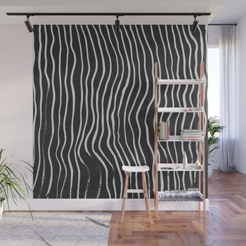 minimal movement Wall Mural by duckyb