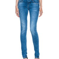 Victoria Beckham Jeans Superskinny in Faded Blue