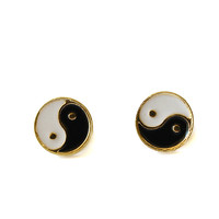 Tai Chi Symbol Earrings