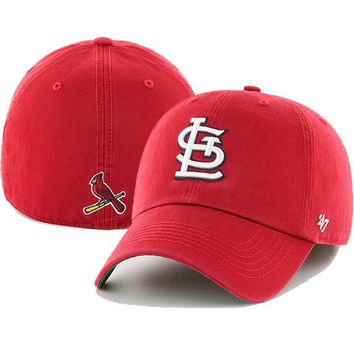 Men's St. Louis Cardinals '47 Red Franchise Fitted Dad Hat