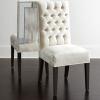 Haute House Brittney Mirrored Dining Chair