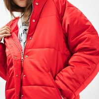 Oversized Puffer Jacket | Topshop