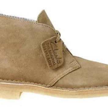 Clarks Mens Originals Desert Boots Oakwood Suede 26110058