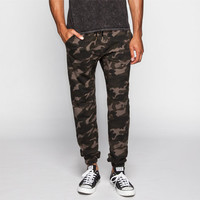 Charles And A Half Mens Fleece Jogger Pants Camo  In Sizes