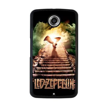 LED ZEPPELIN STAIRWAY TO HEAVEN Nexus 6 Case Cover