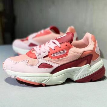 Adidas Falcon Retro Popular Women Personality Sport Running Shoes Sneakers