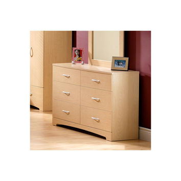South Shore Step One 6 Drawer Double Dresser You'll Love | Wayfair
