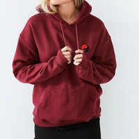 Embroidered Yin Yang Hoodie Sweatshirt | Urban Outfitters
