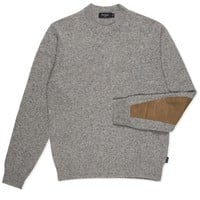 Paul Smith Men's Knitwear | Grey Marl Crew Neck Jumper