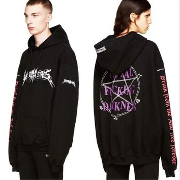 Vetements Hoodie Oversized