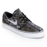 Nike SB Zoom Stefan Janoski Black, White, & Medium Olive Shoe