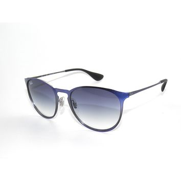 RAY BAN SunglaSSeS 3539 SHOT BLUE METALLIC/BLUE GRADIENT 194/19 Rayban