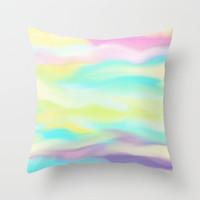 *** Vanilla Shake *** Summer Throw Pillow by M✿nika  Strigel for your beach house, beach blanket *** Available with OUTDOOR COVER !!!! NEW !