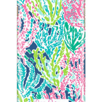 Best Lilly Pulitzer Sea Summer Print On For iPhone 7 7+ Hard Plastic Cover Case