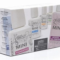 Harmony Gelish Esmalte de Uñas de Gel, Tono Mini Basix Kit: Amazon.es: Belleza