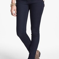 Articles of Society 'Lana' Skinny Jeans (Dark) (Juniors)