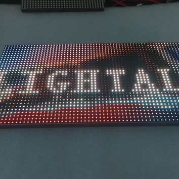 Outdoor 320*160mm 32*16pixels 1/4 scan RGB P10 full color LED Advertising Media Display