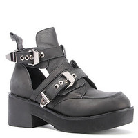 Jeffrey Campbell The Coltrane Boot in Distressed Black : Karmaloop.com - Global Concrete Culture