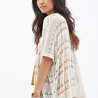 FOREVER 21 Open-Knit Cardigan