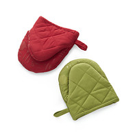 Mini Oven Mitts with Silicone Grip