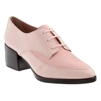 Banana Republic Womens Erica Heeled Oxford