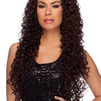 """LACE FRONT WIG, EXTRA LONG CURLY  30"""" (LL006)"""