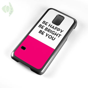 Be Happy Be Bright Be You Kate Spade Samsung Galaxy S5 Mini Case