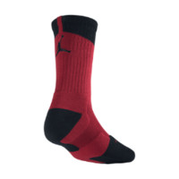 Nike Air Jordan Dri-FIT Crew Basketball Socks 1 Pair - Gym Red