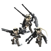 Desktop Army Frame Arms Girl Mega House Action Figure : KT-321f Gourai Series 3Pack BOX - HYPETOKYO