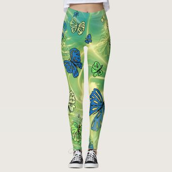 Flutter Butterfly Leggings