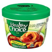 Healthy Choice Cheese Tortellini Soup Bowl 14 oz