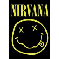Nirvana - Smiley Tapestry
