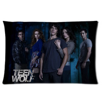 Teen Wolf Serial Movie Personalized Pillowcase Cover With Front And Back Pictures
