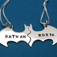 Batman & Robin BFF Necklace
