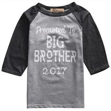 Promoted To Big Brother Toddler Tee