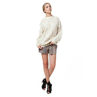 RAMEY BACK DROP OVERSIZED SWEATER