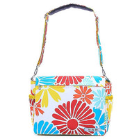 Ju-Ju-Be Better Be Messenger Diaper Bag Flower Power 12MM01AFLP