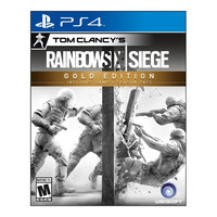 Tom Clancy's Rainbow Six Siege Gold Edition PS4 Video Game