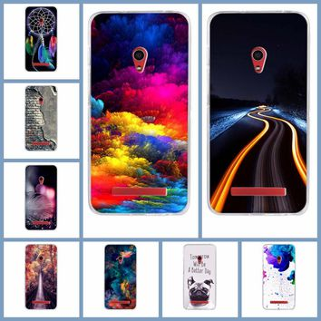 Soft Tpu Phone Cases for Asus ZenFone 5 A500KL A500CG A501CG Phone Bag 5.0 inch Silicone Cover for ZenFone 5 A500KL A500CG Cases