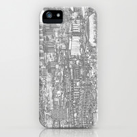 Leeds City Drawing iPhone & iPod Case by Karl Wilson Photography