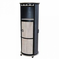 Ridge Tall Wine Cabinet by Home Accents Gallery WC1001