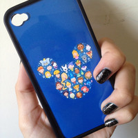Disney Compilation Case iPhone 4 4s by BluWatermelonDesigns