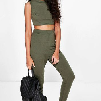 Amelia Stretch Knitted Loungewear Set | Boohoo