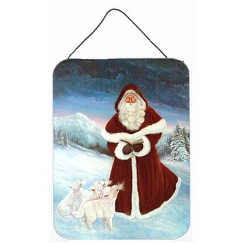 A Spirit of Harmony Santa Claus Wall or Door Hanging Prints PJC1002DS1216