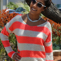 Dreaming of Neon Summer Sweater